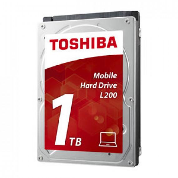 """Disque dur 2.5"""" 9.5mm TOSHIBA L200 1 TO (BULK) 5400 RPM 8 Mo Serial ATA II (Bulk)"""