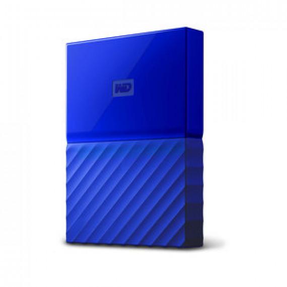 """Disque dur externe 2.5"""" WD MY PASSPORT 3 TO BLEU sur port USB 3.0 / USB 2.0"""