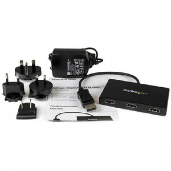 Adaptateur StarTech.com MSTDP123HD - MST DisplayPort 1.2 Mâle vers 3 x HDMI femelle