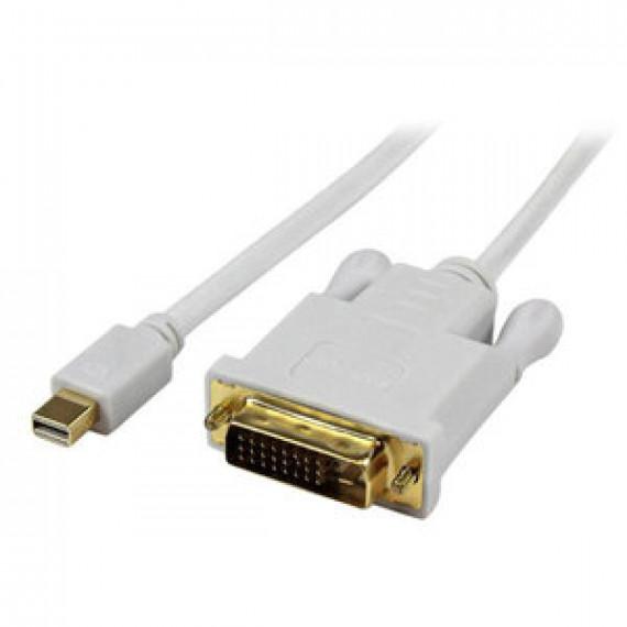 Adaptateur actif StarTech.com DP2DVIMM3WS - DisplayPort vers DVI-D (Mâle/Mâle) - 0.9 mètre
