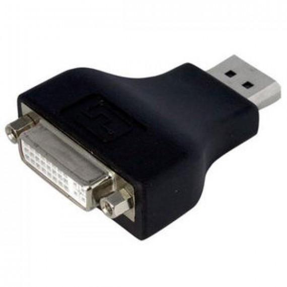 Adaptateur monobloc passif StarTech.com DP2DVIADAP - DisplayPort vers DVI-D (Mâle/Femelle)