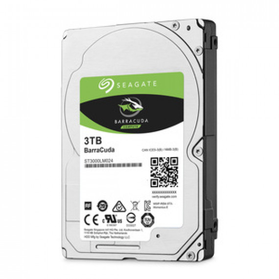 "Disque dur 2.5"" Seagate BarraCuda 3 To (ST3000LM024) - 3 To 5400 RPM 128 Mo Serial ATA 6 Gb/s"