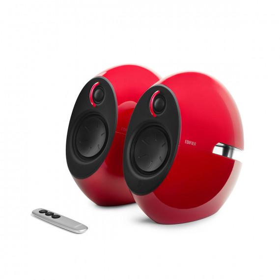 Enceintes Bluetooth 2.0 Edifier e25 Luna Rouge
