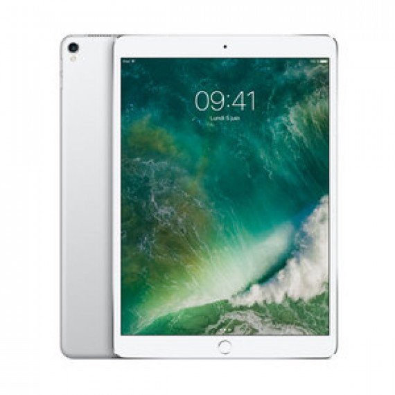 "Tablette Internet Apple iPad Pro 10.5 pouces 512Go Wi-Fi Argent - Apple A10X 64 bits RAM 4Go eMMC 512Go 10.5"" LED tactile Wi-Fi AC / Bluetooth Webcam iOS 10"
