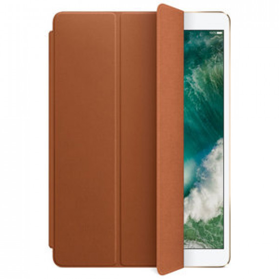 "Protection écran en cuir fin pour APPLE IPAD PRO 10.5"" SMART COVER CUIR HAVANE"