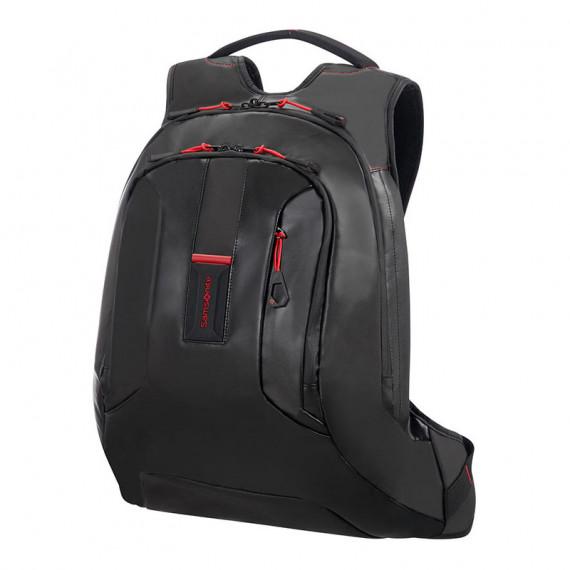 Sac à dos professionnel Samsonite Paradiver Light 15.6'' (coloris noir) - pour ordinateur portable (jusqu'à 15.6'') et tablette