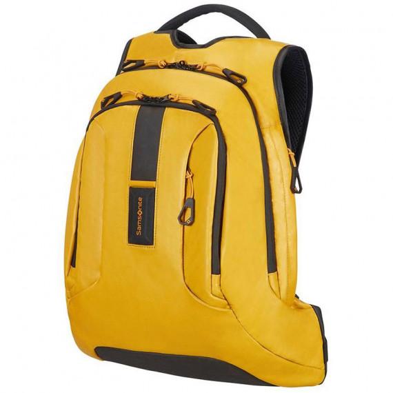 Sac à dos professionnel Samsonite Paradiver Light 15.6'' (coloris jaune) - pour ordinateur portable (jusqu'à 15.6'') et tablette