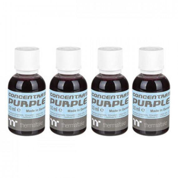 Lot de 4 bouteilles de colorant pour watercooling Thermaltake Premium Concentrate Violet