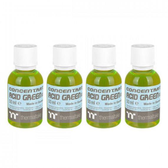 Lot de 4 bouteilles de colorant pour watercooling Thermaltake Premium Concentrate Vert Acide