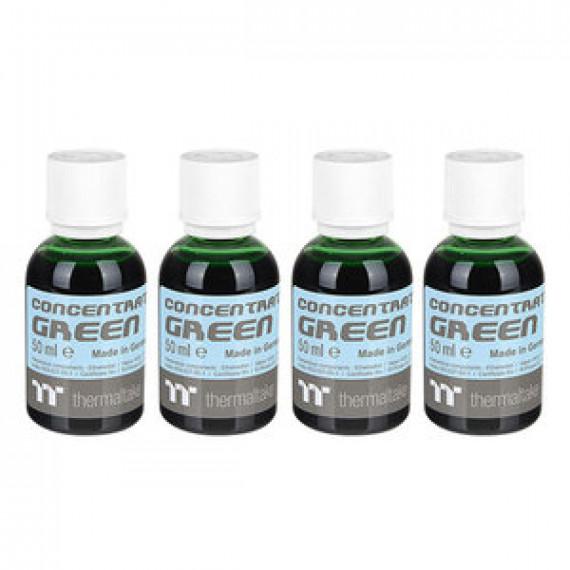 Lot de 4 bouteilles de colorant pour watercooling Thermaltake Premium Concentrate Vert