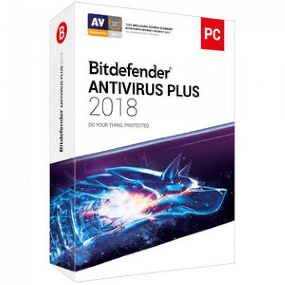 BITDEFENDER Antivirus Plus 2018 - 1 An 1 Poste OEM
