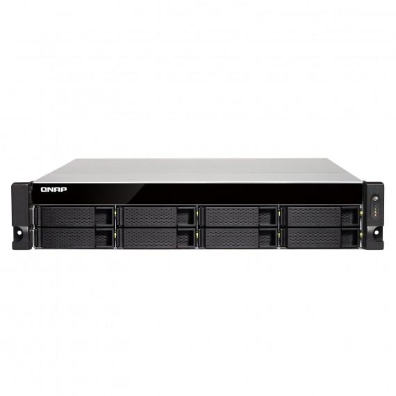 Serveur NAS professionnel QNAP TS-853BU-4G - 8 baies (sans disque dur) avec 4 Go de RAM, processeur Intel Apollo Lake J3455 Quad-Core 1.5GHz