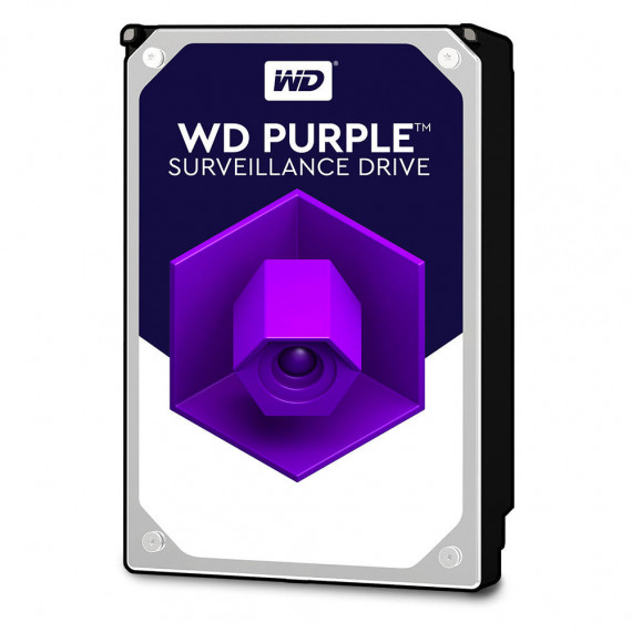 "Disque Dur interne WD Purple Videosurveillance 4 To SATA 6Gb/s - 3,5"" 4 To 64 Mo Serial ATA 6Gb/s - WD40PURZ"