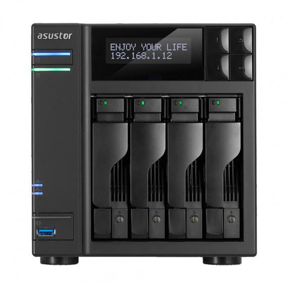 Barebone Serveur ASUSTOR AS6402T - NAS 4 baies (sans disques durs)