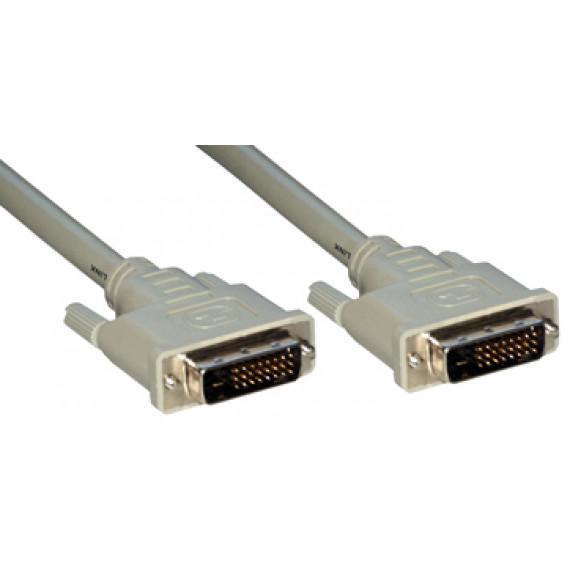 MCL Câble DVI-D mâle / DVI-D mâle dual link (24+1) - 2m
