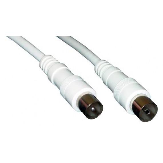 MCL Câble prolongateur d'antenne mâle / femelle 9,5mm - 10m