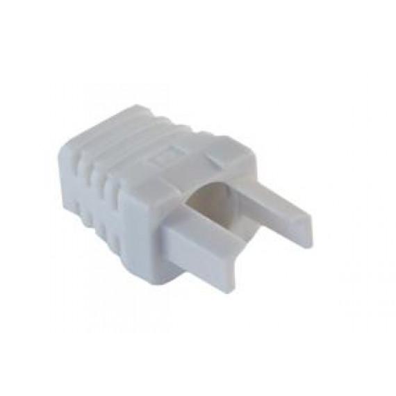 MCL Manchon plastique 6mm pour RJ45 - Blanc