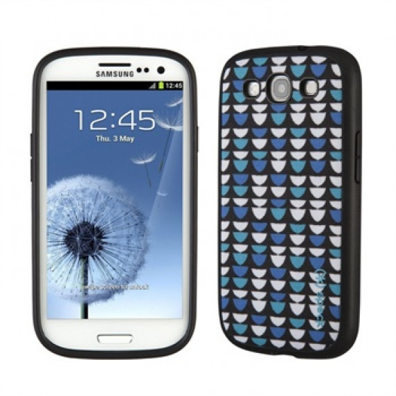 SPECK PRODUCTS Coque Galaxy S III  FabShell - FishyScales Blue