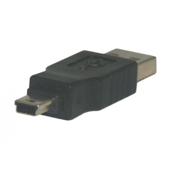 MCL Adaptateur USB A mâle / mini USB B mâle (5 broches)