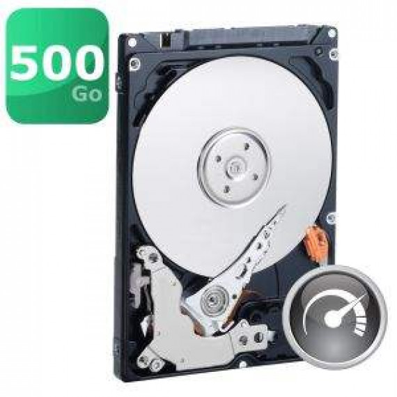WESTERN DIGITAL 2.5'' - WD Laptop 500Go