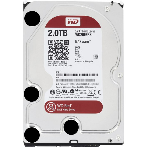 WESTERN DIGITAL Red 2 To SATA 6Gb/s