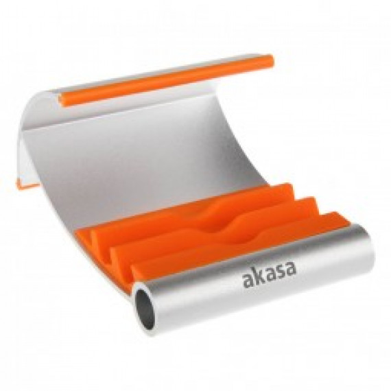 Support aluminium de tablette Akasa Leo - orange
